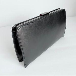 Vintage 90s COACH clutch purse